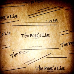 The Poet's List is the best site for poetry news and spoken word videos!