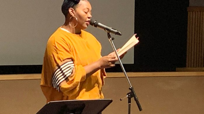 The Poet's List - Poet - Poetry News Spoken word Video - Chronicle - Mahogany Browne