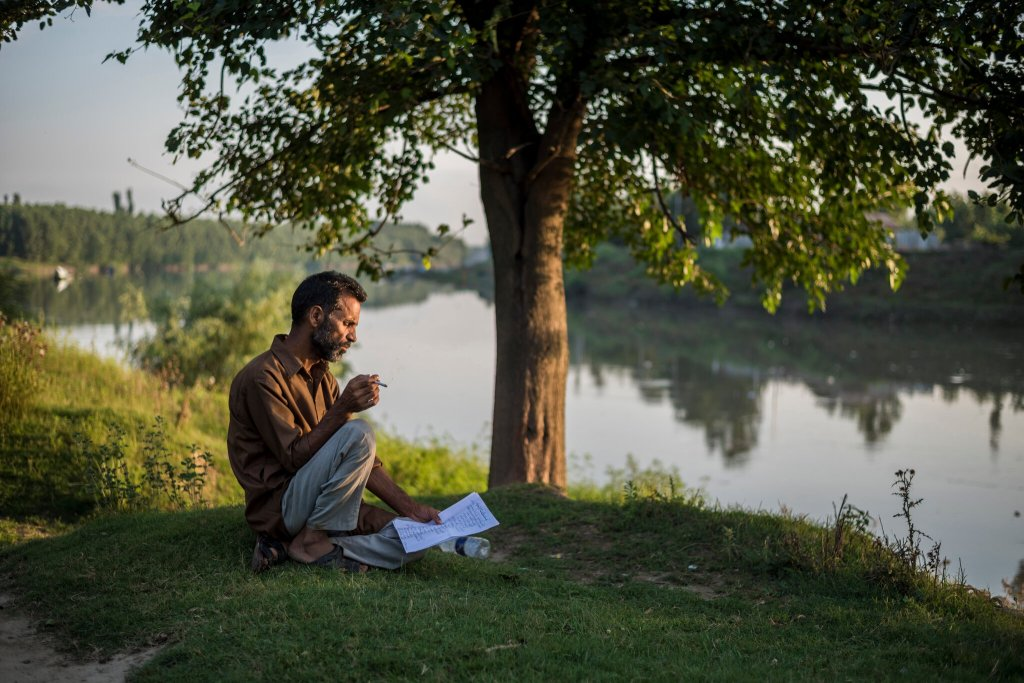 The Poet's List - Poet - Poetry News Spokenword Video - NY Times - New York Times - India - Ghulam Mohammad Bha